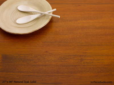 Natural Teak Solid