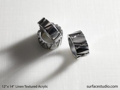 Linen Textured Acrylic