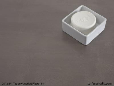 Taupe Venetian Plaster #1