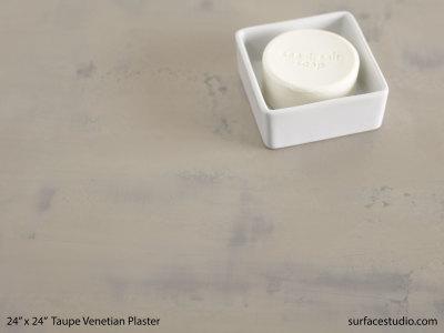 Taupe Venetian Plaster #6