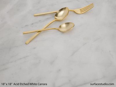 Acid Etched White Carrara (15 lbs)