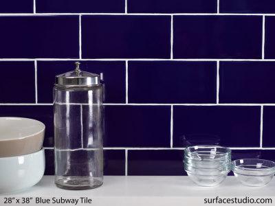 Blue Subway Tile (35 lbs)