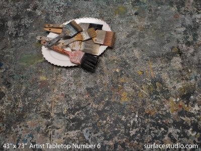 Artist Tabletop Number Six