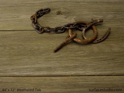 """Weathered Oak (9"""" Planks)"""