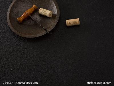 Textured Black Slate (75 lbs)