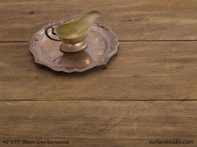 "Warm Grey Barnwood (11"" Planks)"