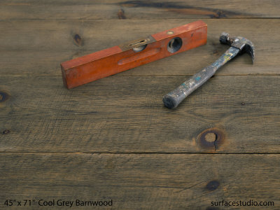 "Cool Grey Barnwood (11"" Planks)"