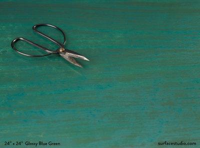 Glossy Blue Green