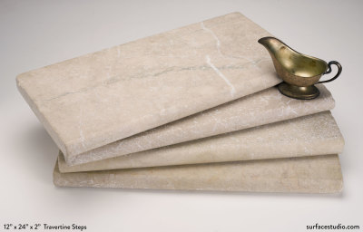 Travertine Steps (40 lbs)  (4 available) $70 each