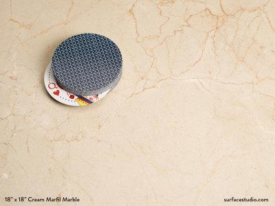 Cream Marfil Marble (15 lbs)