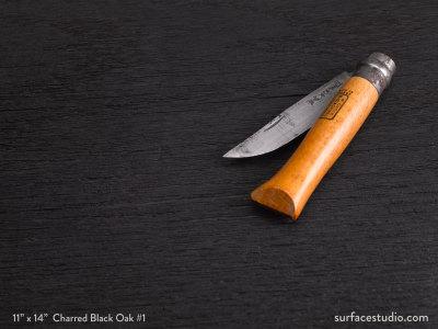 Charred Black Oak #1