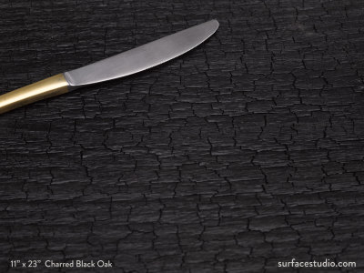 Charred Black Oak