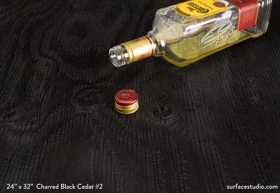 Charred Black Cedar #2