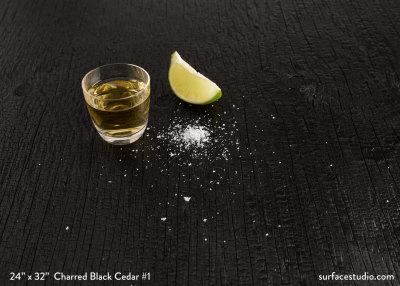 Charred Black Cedar #1