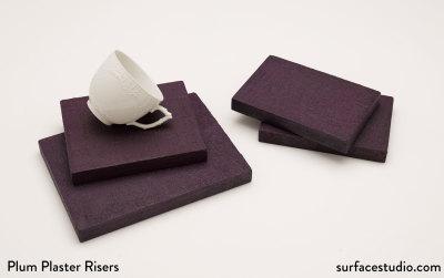 Plum Plaster Risers (4)