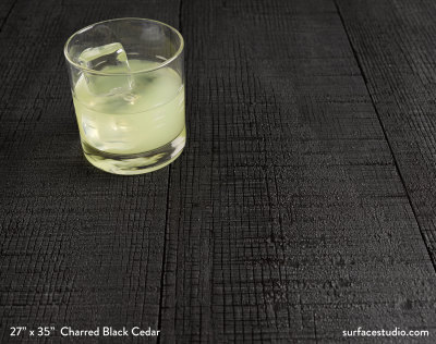 Charred Black Cedar