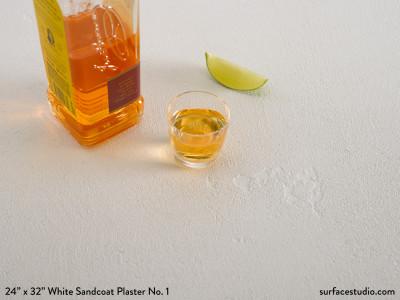White Sandcoat Plaster No. 1