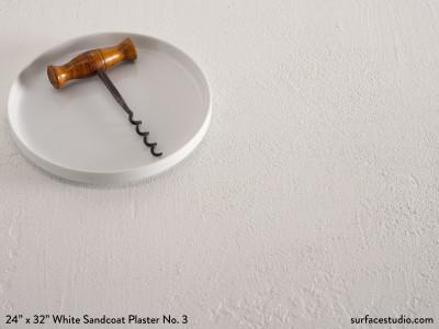 White Sandcoat Plaster No. 3