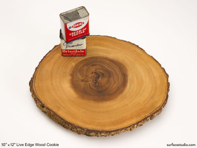Live Edge Wood Cookie