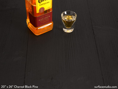Charred Black Pine