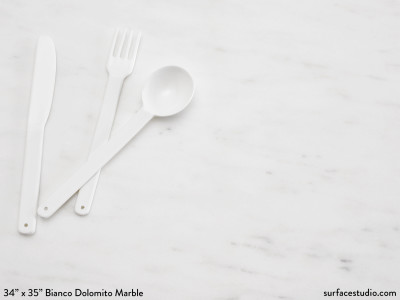 Bianco Dolomito Marble (110 lbs)