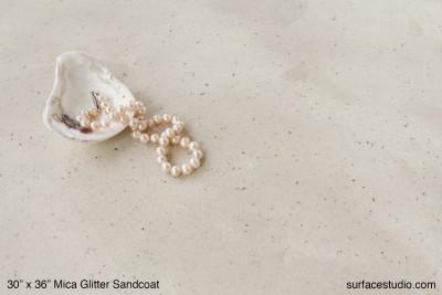Mica Glitter Sandcoat Plaster