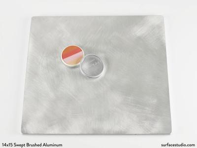Swept Brushed Aluminum