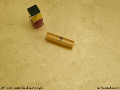 Lustre Gold Leaf Acrylic