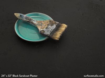 Black Sandcoat Plaster