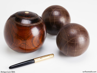 Antique Lawn Balls (3) $30 each