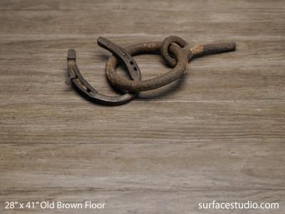 """Old Brown Floor (3"""" Planks)"""