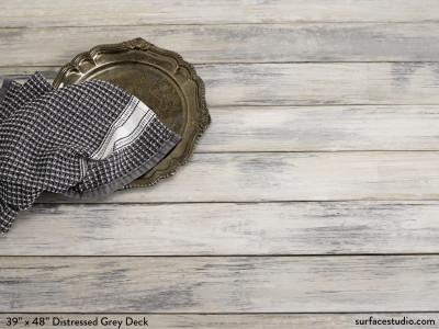 "Distressed Grey Deck (3 ½"" Planks) (25 LBS)"