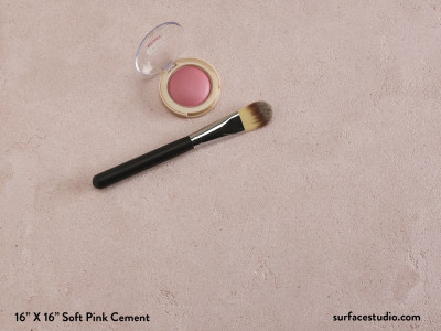 Soft Pink Cement