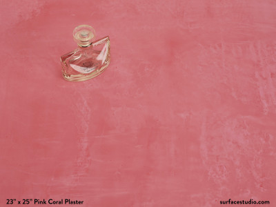 Pink Coral Plaster