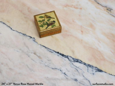 Venus Rosa Honed Marble (60 lbs)