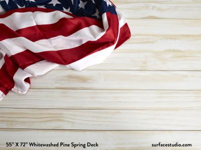 Whitewashed Pine Spring Deck (70 LBS)