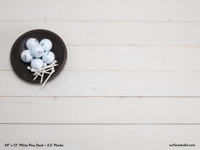 "White Pine Deck (3 ½"" Planks)"