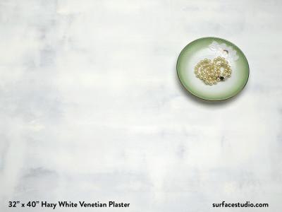 Hazy White Venetian Plaster