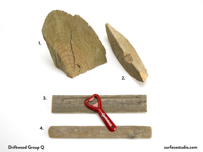 Driftwood Group Q - $15 each