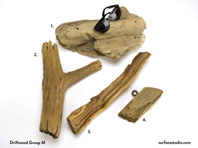 Driftwood Group M (4)  $10 - $15 each