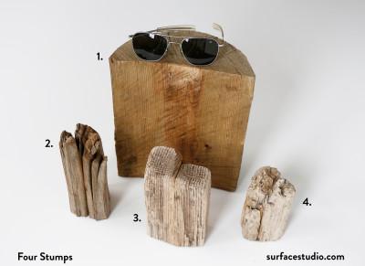 Four Driftwood Stumps $30 each