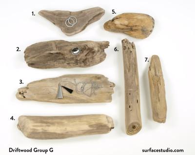 Driftwood Group G (7) $15 each