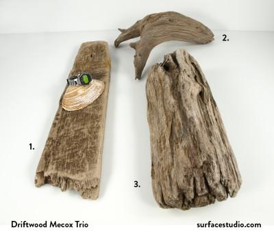 Driftwood Mecox Trio (3) $55 each