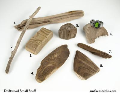 Driftwood Small Stuff (8) $15 Each