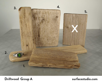 Driftwood Group A (4) $55 Each
