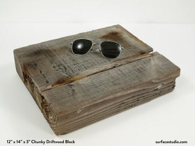 Chunky Driftwood Block  (10 lbs)