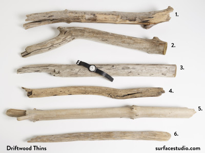 "Driftwood Thins 25"" to 36"" ~ $25 each"