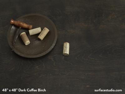 Dark Coffee Birch
