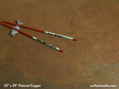 Patined Copper
