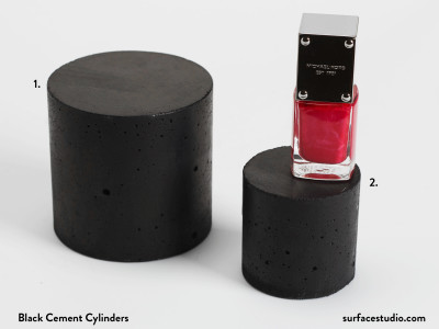 Black Cement Cylinders (2)